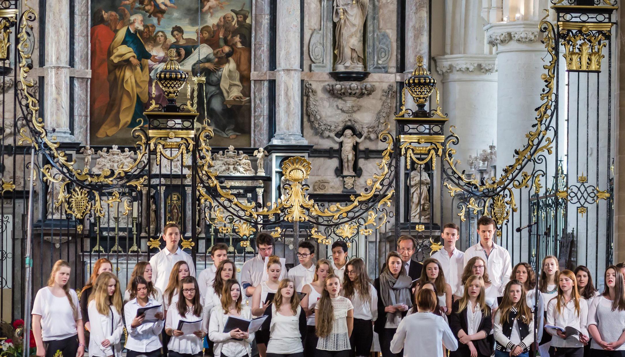 11ème Musi-chorales de Notre-Dame. La Chorale du Lycée Coubertin